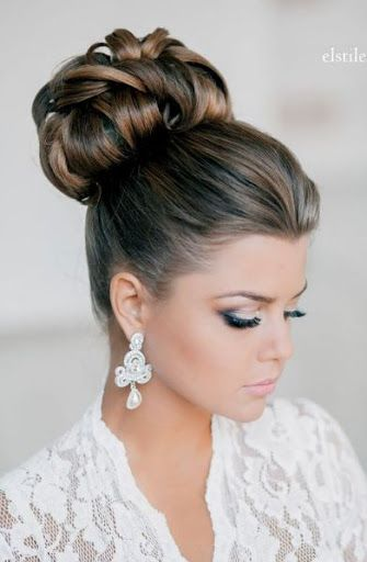 30 Cute Top Bun Hairstyles For Women And Girls In 2016 Hair Styles Wedding Hair Inspiration Wedding Hairstyles