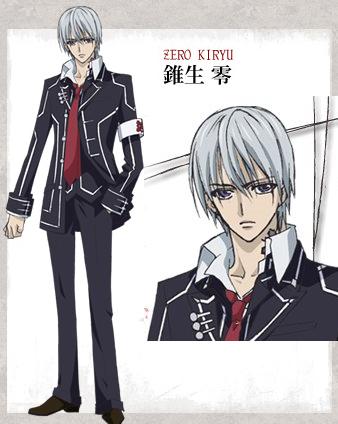 Zero Kiryuu from Vampire Knight Vampire knight, Vampire