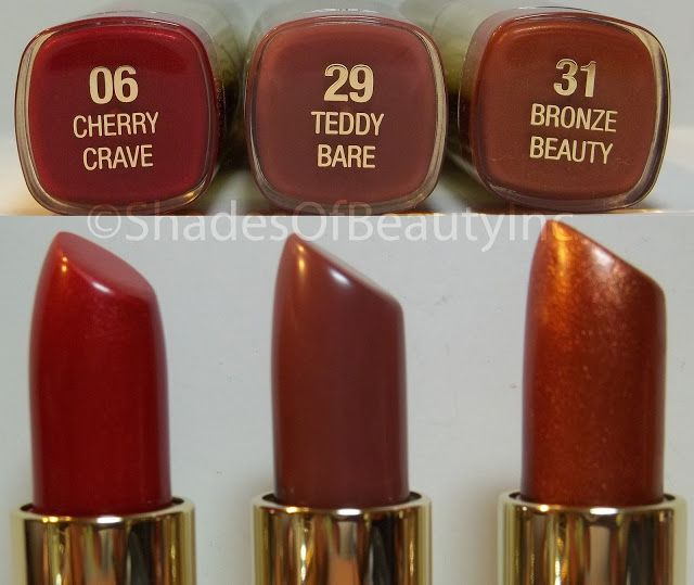 More Milani Color Statement Lipsticks Swatches...