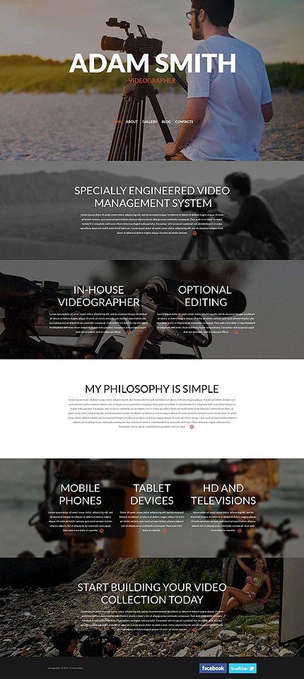 Eenvoudige Wordpress Templates | Wordpress, Wordpress template and ...