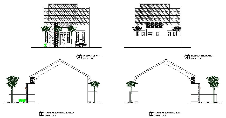Desain Rumah Sederhana Minimalis Uk 8x15 Jasa Desain Rumah Desain Rumah Rumah Desain