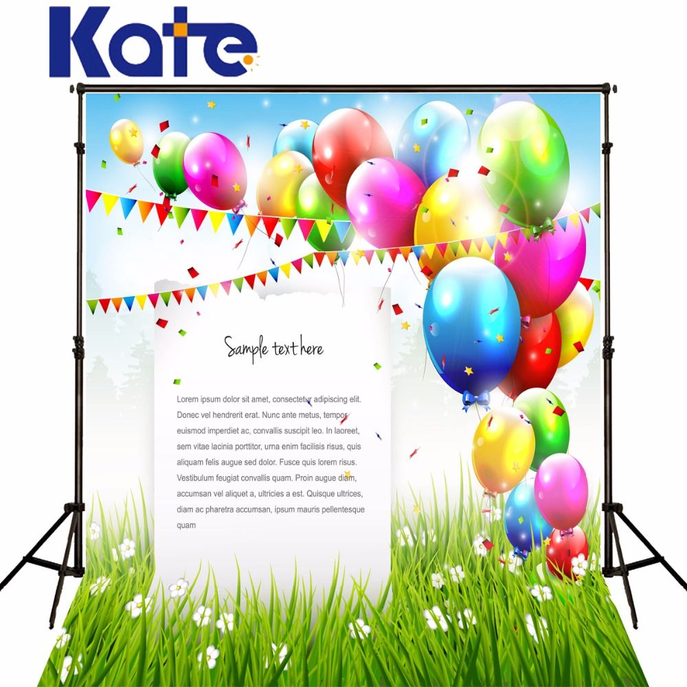 Find more background information about kate colorful balloons find more background information about kate colorful balloons photography backgrounds customize stage photo backdrops grass envelope dhlflorist Choice Image