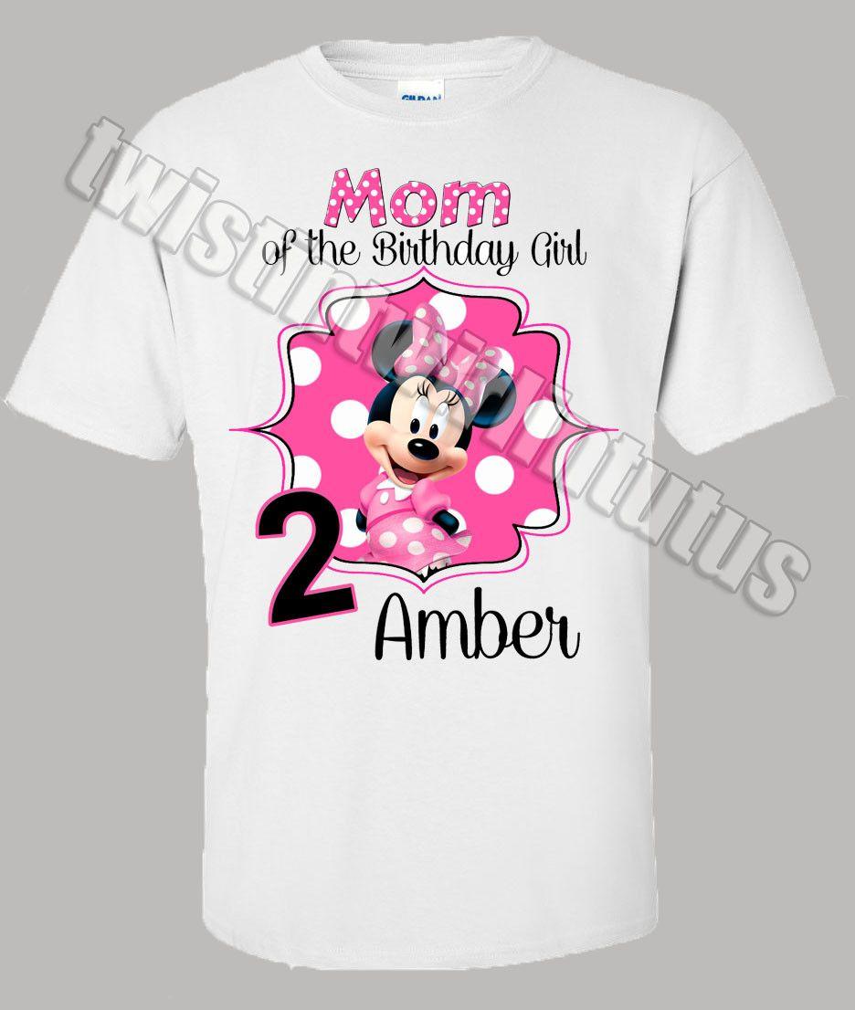 Minnie Mouse Mom Shirt