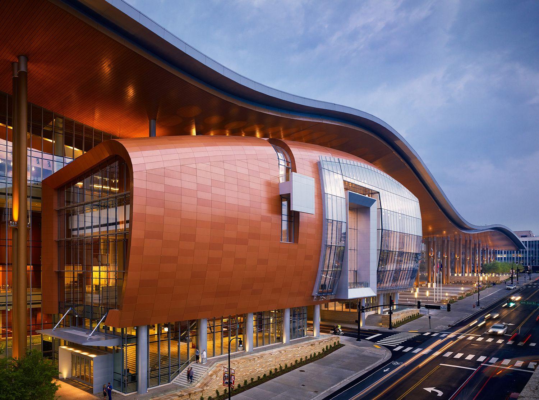 Merit Award Music City Center Nashville Tn By Tvsdesign Tuck Hinton Architects Moody Nolan Architecture Visitor Center Architecture Parametric Architecture