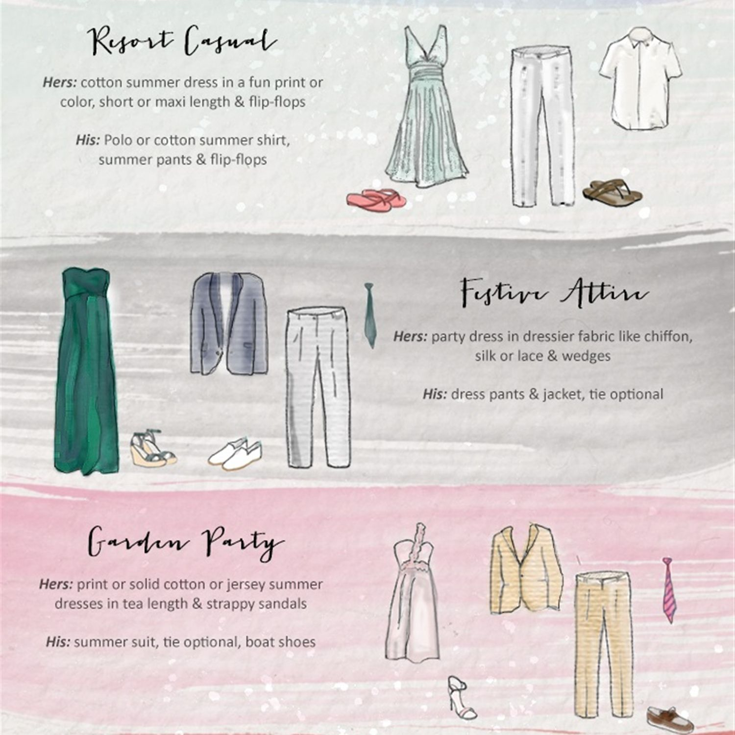 Destination Wedding Dress Code Dress Code Wedding