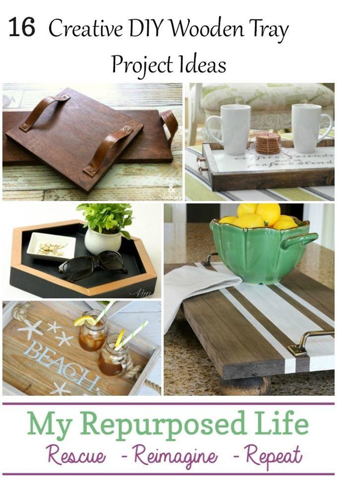 Diy Tray Ideas Diy Tray Wooden Diy Home Diy