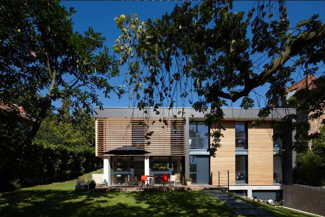 Maison en pierre gris-roux Le Minihic sur Rance Achitecture