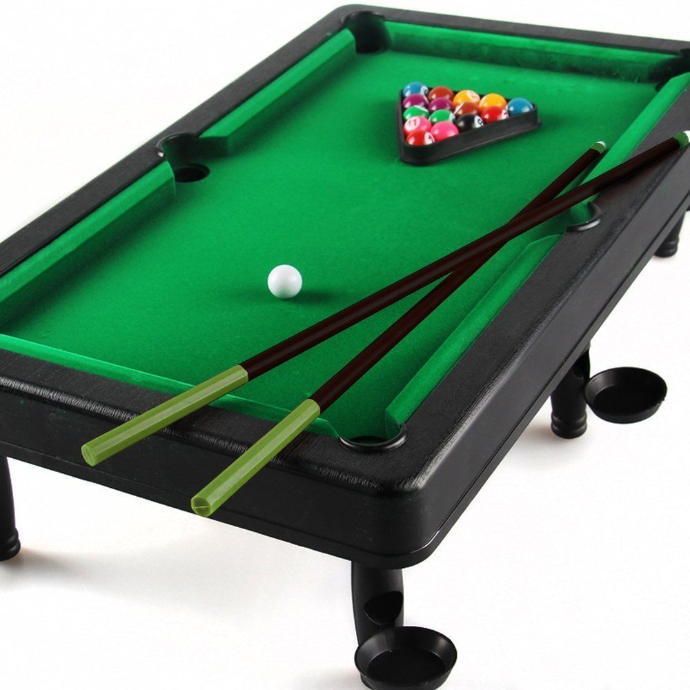 Beby Fold Up Snooker/Pool Table game toys play set for Toddler kids  children boys