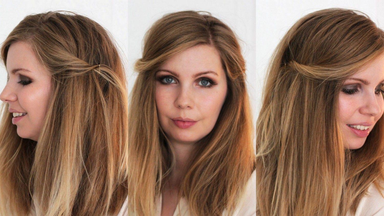 Schnelle frisuren fur schulterlange haare