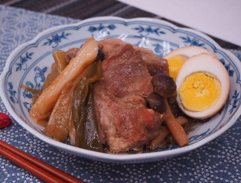 豚ブロック肉のだし煮