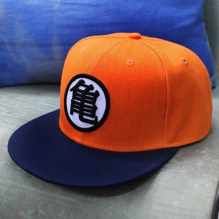 Dragon Ball Master Roshi Kanji Kame Symbol Hip Hop Snapback Hat Cap Dragon Ball Baseball Hats Dragon Ball Z