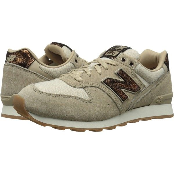 Womens Shoes New Balance Classics WL696 Sandstone Suede/Textile/Leather