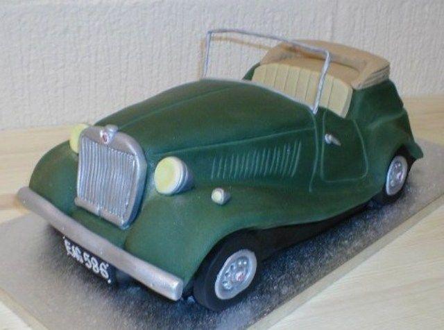 Vintage Car Cake Vehicle Cakepins Com Cake Vehicles