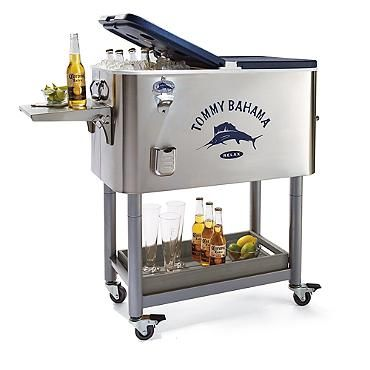 Tommy Bahama Rolling Party Cooler Outdoor Furniture Sp 16