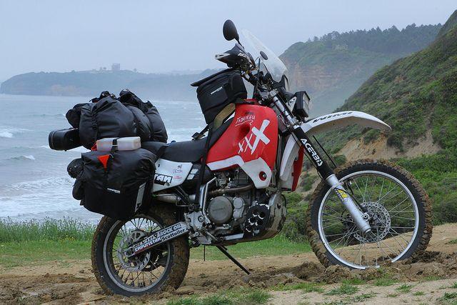 XR650R Customized for RTW trip #xr650r #adventurebike #dualsport #advrider #motorcycle