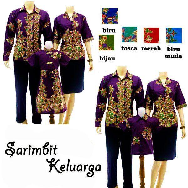 25+ Model Baju Batik Sarimbit Keluarga Untuk Pesta Modern 2017 ... 9e62ce8c05