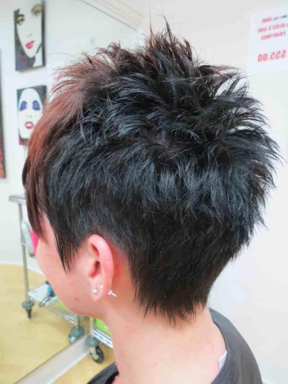 Short Aline Haircuts Back View Choice Image Haircut Ideas For Short Aline Haircuts Back View Cho Short Spiky Haircuts Short Spiky Hairstyles Short Hair Styles