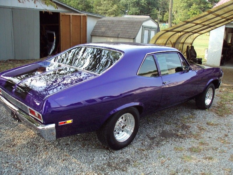 Anyone in East Tennessee recognize this purple car? - Chevy Nova ...