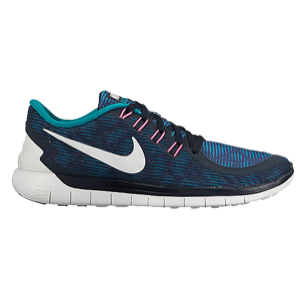 644102e42a0d3 Nike Free 5.0 Dark Obsidian Summit White Radiant Emerald Pink ...
