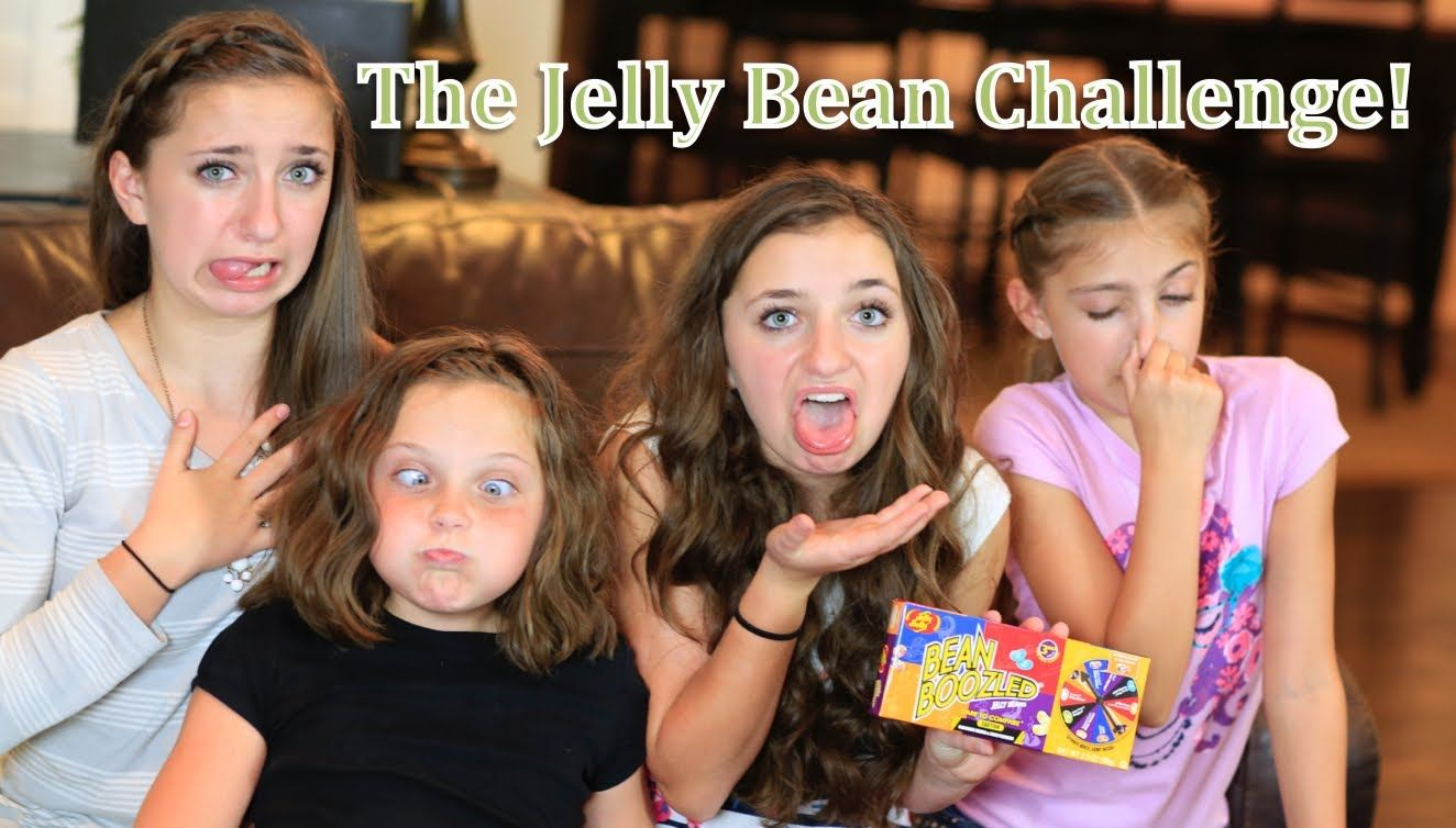 the gross-out jelly bean challenge   brooklyn and bailey with