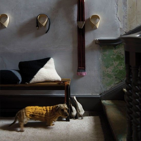 Uberlegen Flur Diele Wohnideen Möbel Dekoration Decoration Living Idea Interiors Home  Corridor   Rustikale Graue Flur