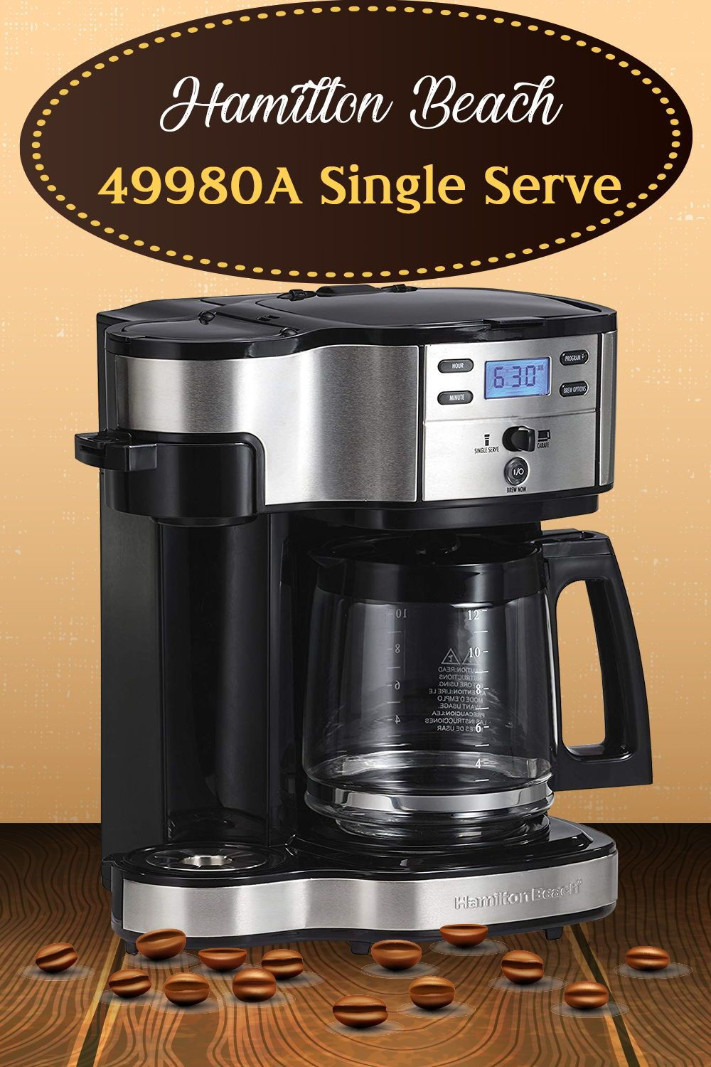 Hamilton Beach 49980A Single Serve Review Single coffee