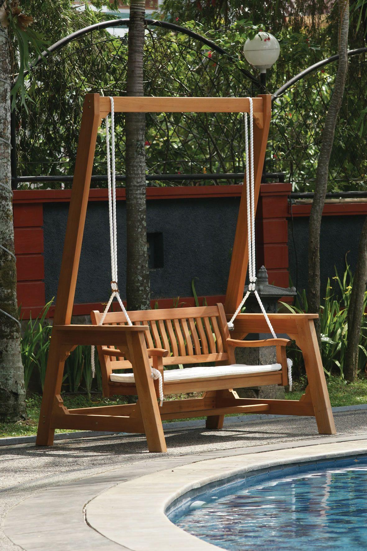 Garden Swings: The Enchanting Element in Your Backyard | Interiors ...