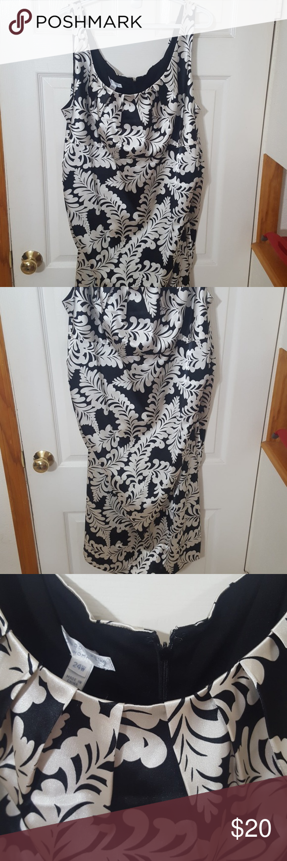 London Times Dress Black And Cream Dress Black Lining Excellent Condition London Times Dresses Midi Clothes Design London Times Dress Dresses [ 1740 x 580 Pixel ]