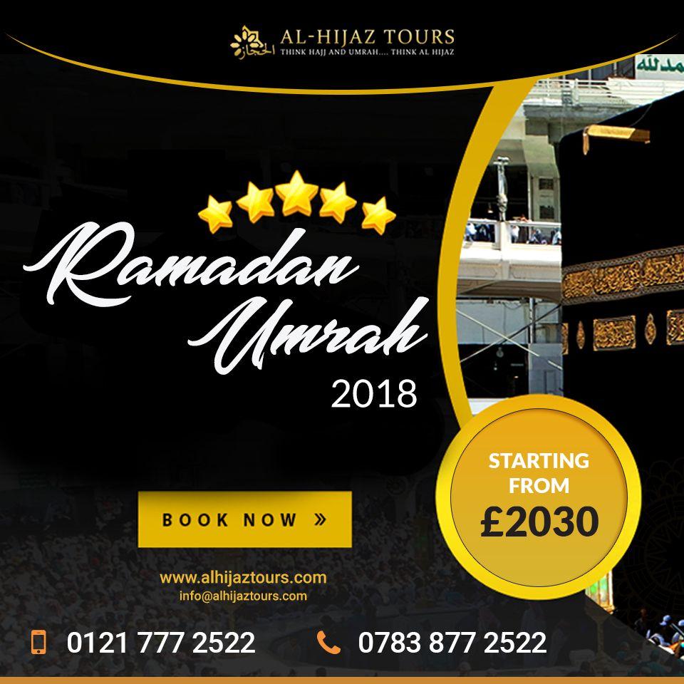 Umrah Banner: Ramadan Umrah Packages 2018