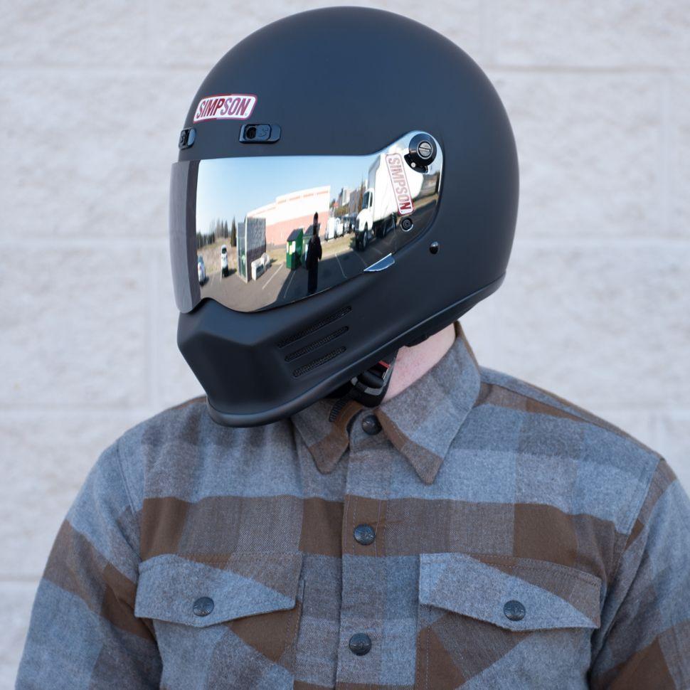 Simpson Street Bandit Helmet Matte Black Matte Black Helmets - Custom motorcycle helmet stickers and decalssimpson motorcycle helmets