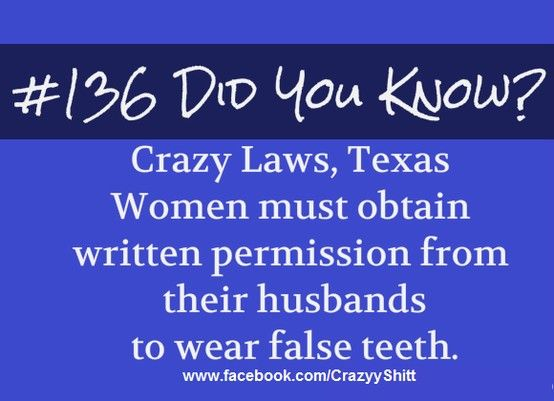 Dumb Laws In Texas >> Stupid Laws Weird Laws Useless Knowledge Wtf Fun Facts
