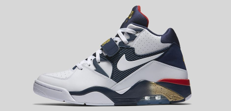 cheap for discount 2f83c c9890 The Olympic edition Nike Air Force 180 worn by Charles Barkley during the  1992 Summer Games is back like at a comet for The sneaker s last rotation i