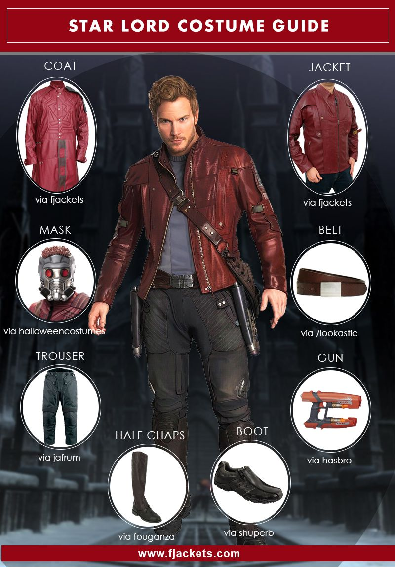 a complete diy costume guide of star lord halloween costumes