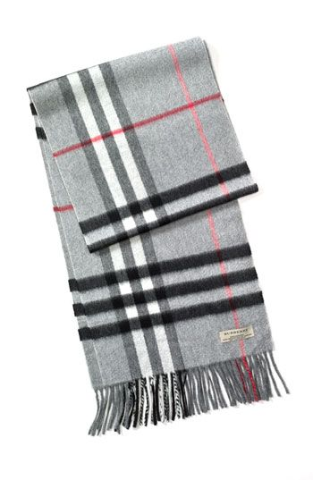 Burberry Giant Check Cashmere Scarf available at  Nordstrom ... 4cea85510e61