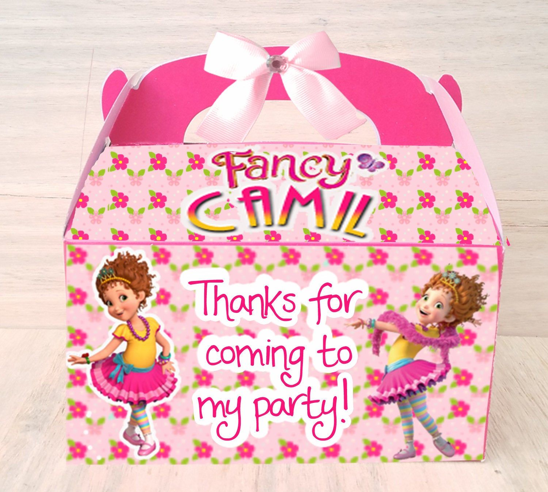 Ancy nancy custom namecandy favor box birthday decoration