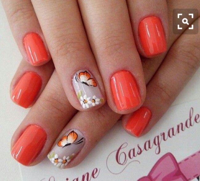 Pin de Luz Adriana en decoración de uñas para hacerme   Pinterest ...