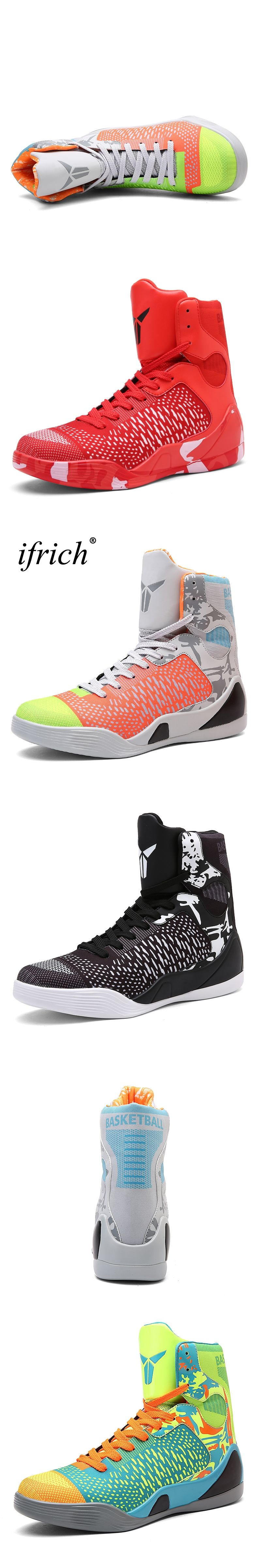 998f63f77bd Mens Basketball Sneakers High Top Basketball Shoes For Men Black Green  Shoes Training Men Leather