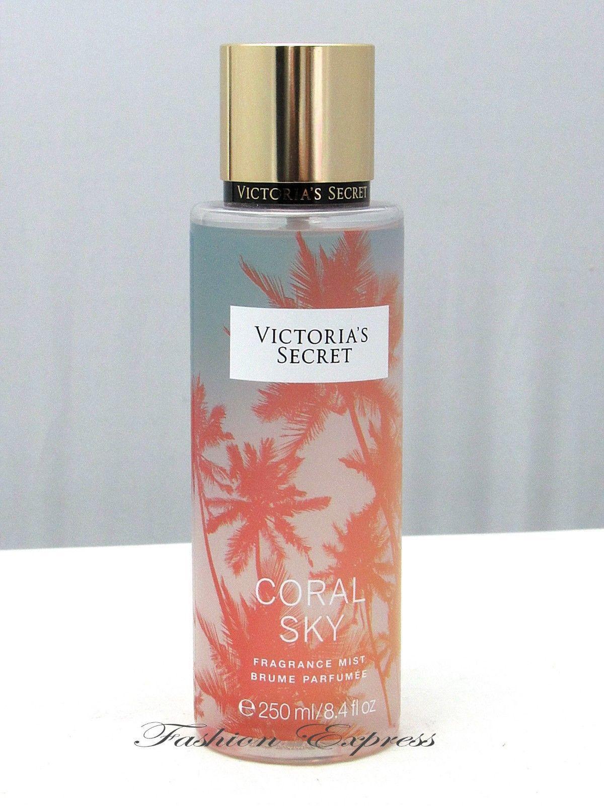Body Sprays And Mists 31753 Victoria S Secret Coral Sky Body