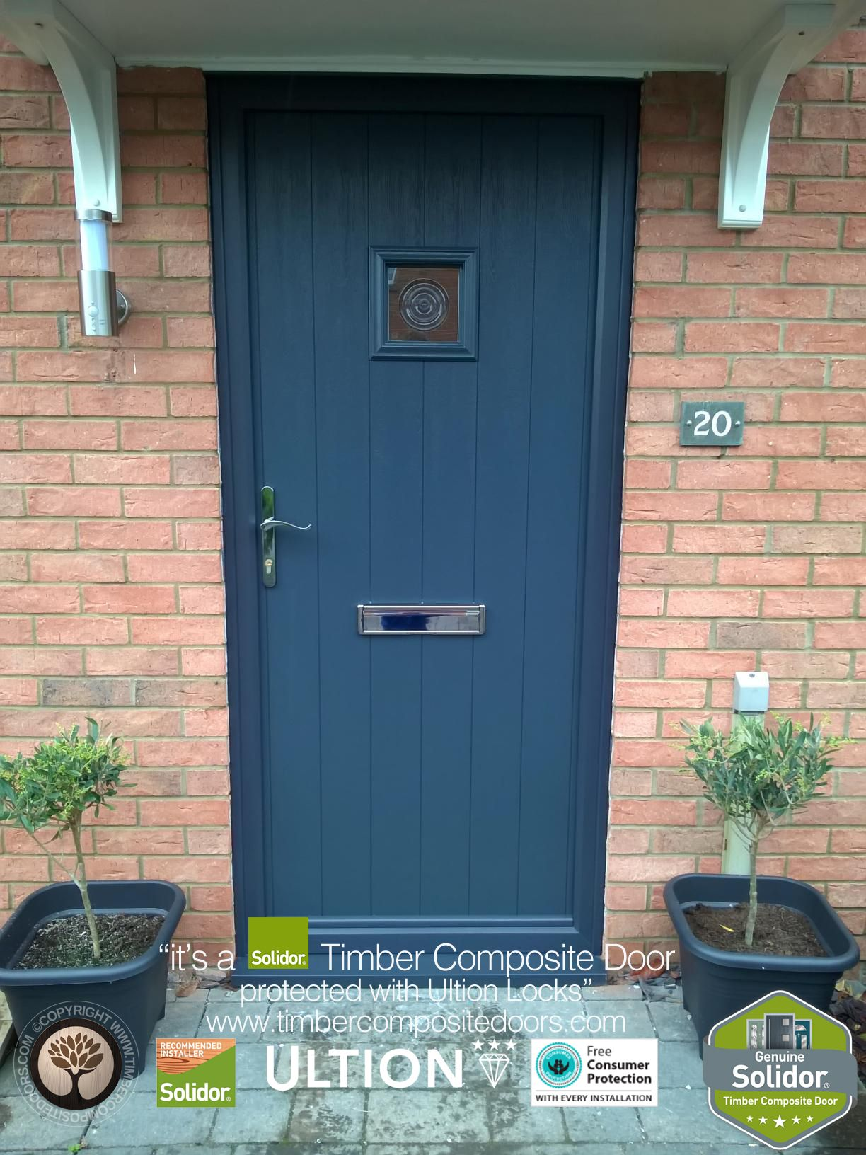 Solidor Timber Composite Doors With Ultion Locks Solidor Timber Composite Doors 12 Months Interest Free Credit Real Pic Composite Door Timber Door Installation