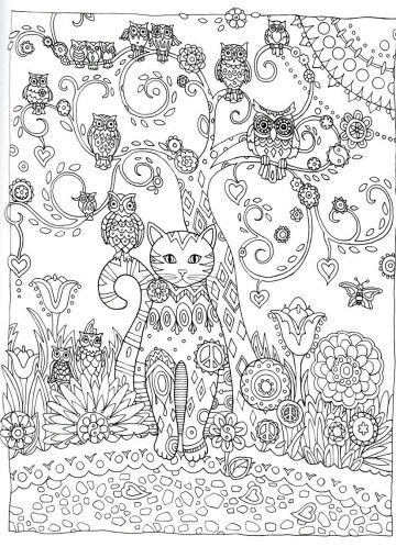 Inspiracao Owl Coloring Pages Cat Coloring Page Cat Coloring Book
