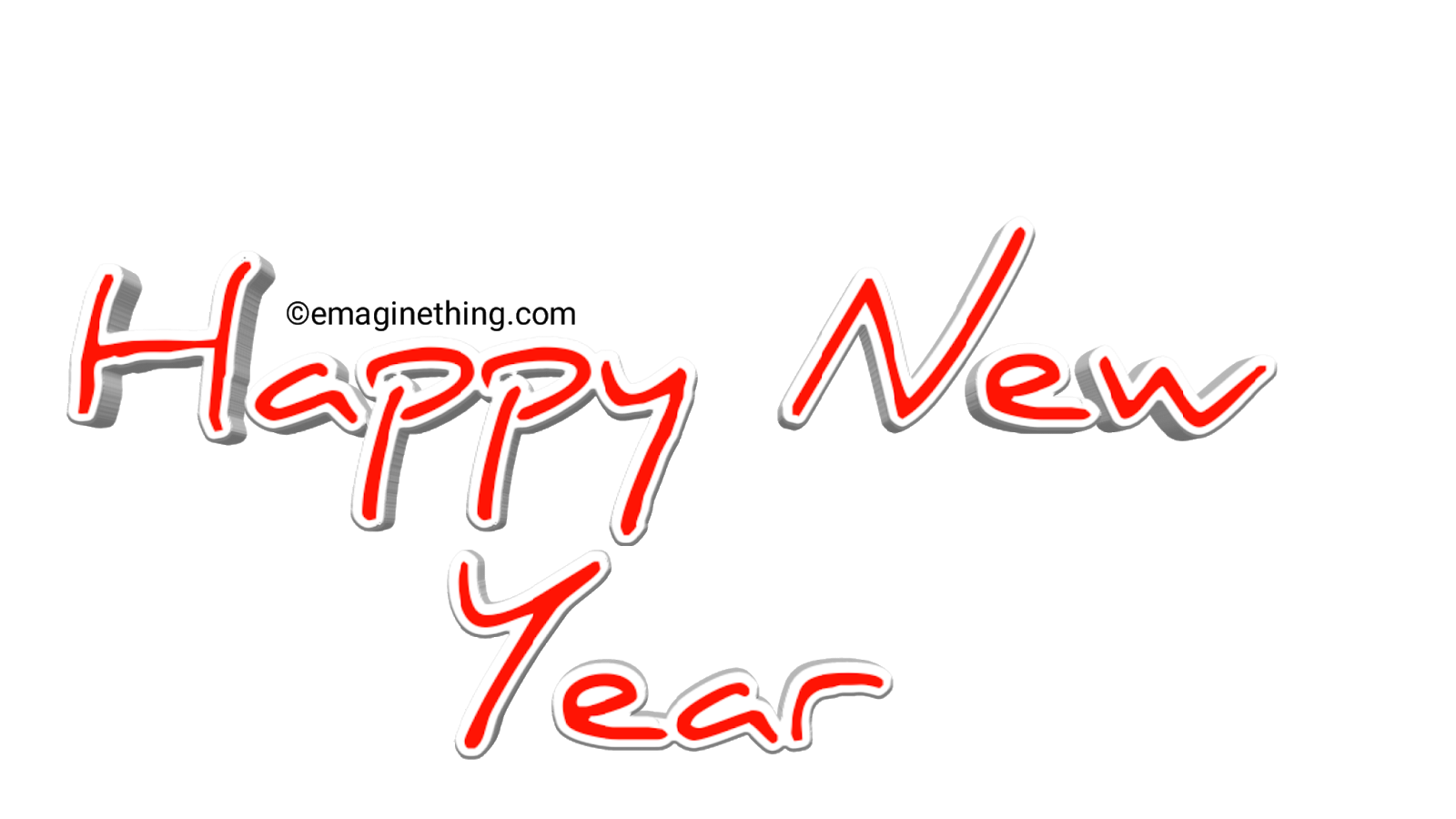 Happy New Year Text Png 2019 Whatsapp Sticker Download Emaginething Happy New Year Text New Year Text Png Text
