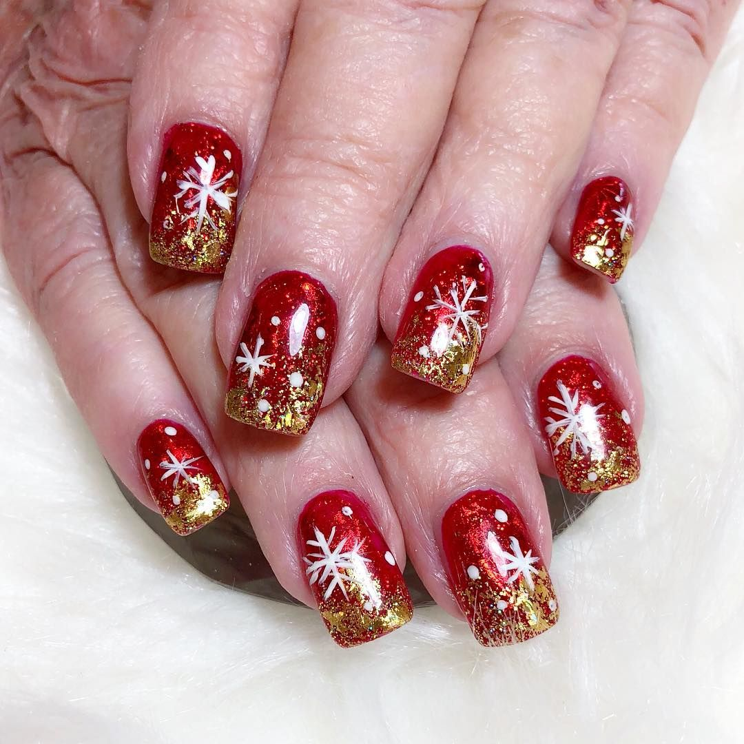 Christmas Nails Not Acrylic: Festive Nail Art, Christmas Nail Designs