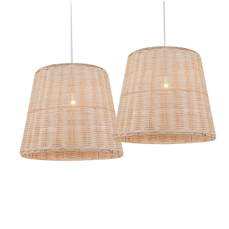 Rattan lampshade chandelier pendant lamp ceiling fixtures retro rattan lampshade chandelier pendant lamp ceiling fixtures retro pendant lighting ebay aloadofball Images