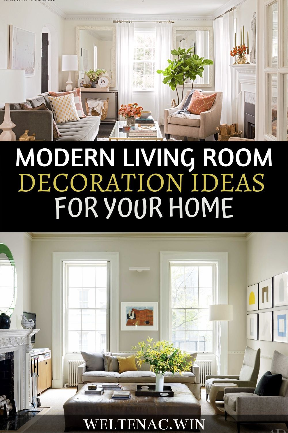 Living rooms should be places of relaxation and comfort. If you are in a strict spending plan; you can generally do it without anyone's help through the following guides. #livingroomdecor #homedecor #decorationtips #homedecorationideas #decorationideas #moderndecor