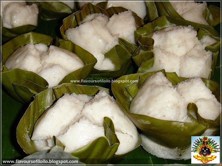 Iloilo Food Trip Rice Puto With Gata Filipino Kakanin