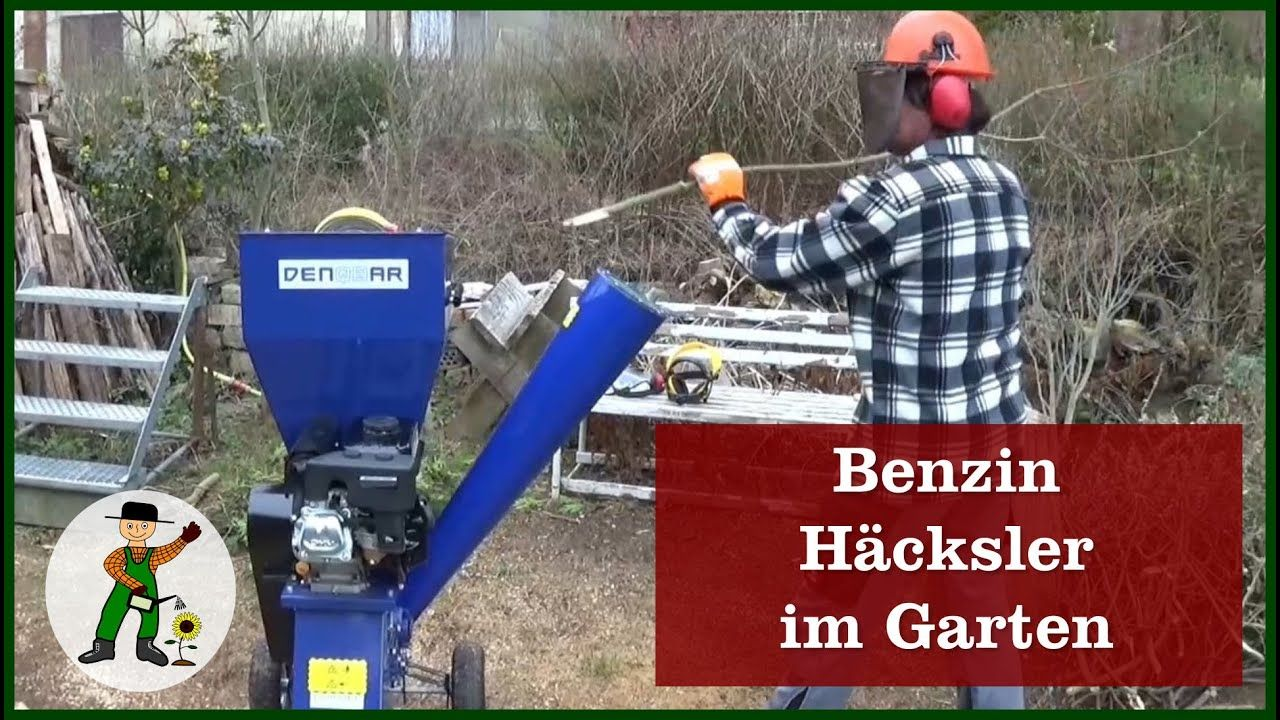 Benzin Hacksler Im Garten Garten