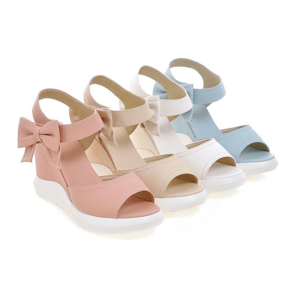 Heels: approx 9 cm Platform: approx 2 cm Color: White, Pink