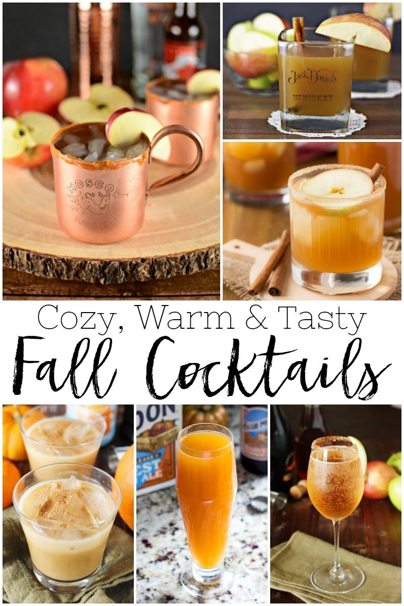20 Delicious Fall Inspired Cocktails Fall signature