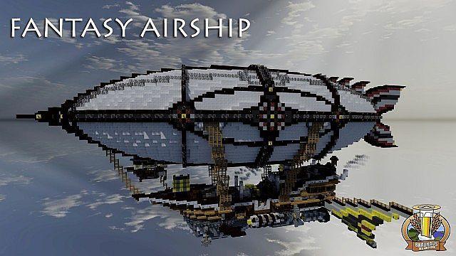 BdH Timeline Map 8 | Fantasy Airship | DOWNLOAD Minecraft ...