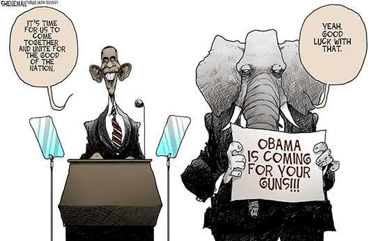 Today's Political Cartoons | January 23, 2013